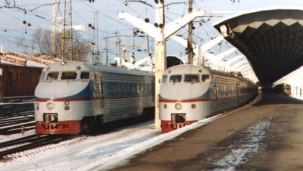 Поездки на поездах [Архив]